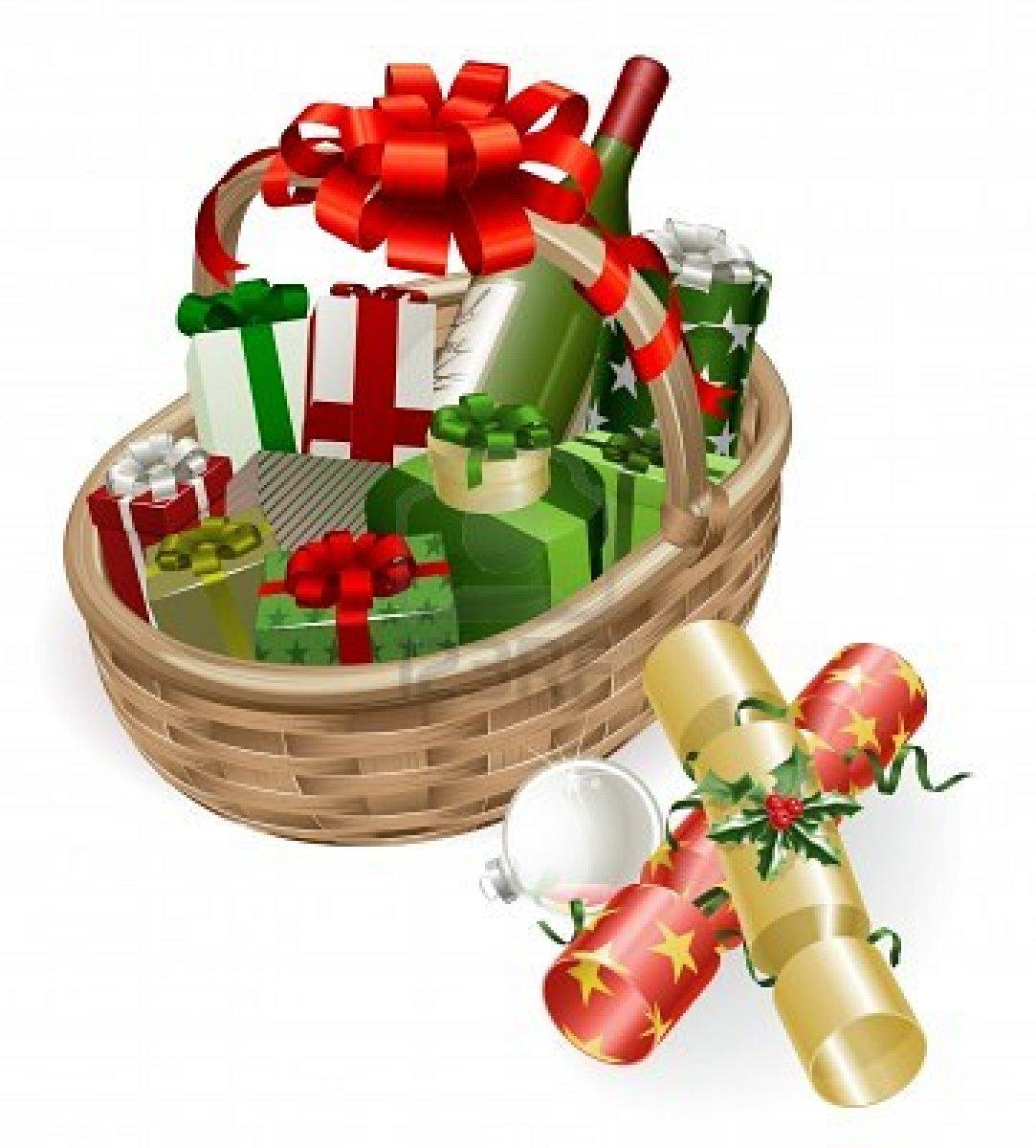 10908705-una-cesta-de-navidad-con-vino-regalos-galletas-y-decoracion-chucheria-bola